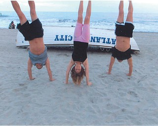An upside-down view of Atlantic City by Aaron and Leanna Hartsough. Sent by Lana Vanauker.