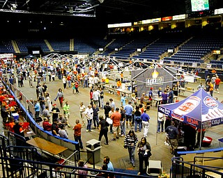 MADELYN P. HASTINGS | THE VINDICATOR..A Beer Fest  was hosted at the Covelli Center on Saturday, October 5, 2013. Beer lovers were able to sample everything from Coors Light to StoneÕs Espresso Imperial Russian Stout. More than 200 beers from 80 brewers were available for sampling.... - -30-..