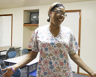 MADELYN P. HASTINGS | THE VINDICATOR..Vonetta Davis recently opened Banana Darlings Learning Center on YoungstownÕs East Side. Davis has worked with children for more than 20 years, but this is her first business venture. ... - -30-..