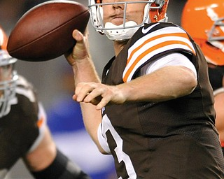 Instead of crumbling or cracking, Browns quarterback Brandon Weeden conquered in the game against Buffalo.