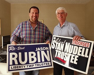 ROBERT K. YOSAY  | THE VINDICATOR..and the winner is Jason Rubin and Stan Nudell  won reelecction to Liberty Trustees..-30-....