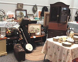 SPECIAL TO THE VINDICATOR Angels for Animals is sponsoring its annual antiques, collectibles and jewelry sale at the shelter, 4750 W. South Range Road (Route 165) in Canfield. Hours are 6 to 9 p.m. Friday, 10 a.m. to 6 p.m. Saturday and noon to 4 p.m. Sunday. Admission is $5 on Friday and includes refreshments and buyers' first choice. Admission is free Saturday and Sunday.