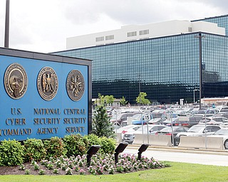The National Security Agency campus is located in Fort Meade, Md.