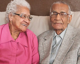 Leotha Arnold, 87, and her husband, Lonnie, 98, of Youngstown are celebrating their 68th wedding anniversary today. The Arnolds are believed to be among the oldest black couples in Mahoning County.