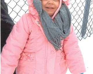 This picture was taken on a family outing Nov. 30, 2013, at Columbiana Firestone Park. Kara Lynn had been sled riding and didn't want to quit. Submitted by her great-grandma, Joanie Ready.