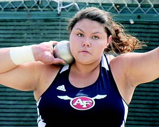 Fitch senior thrower Gabby Figueroa has verbally committed to LSU. A two-time indoor state champion in the weight throw, she holds Ohio's state indoor meet record in the weight throw and was also a state qualifier in both the shot put and discus at last year's outdoor state meet.