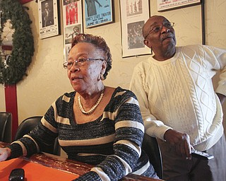 william D. Lewis The Vindicator  Frieda Anderson Martin, and her husband David MArtin owners of popular longtime jazz club on Y-towns Northside.