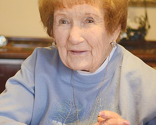 Vivian Henderson has operated the Struthers High School Band Boosters concession stand since the mid-1960s. She also serves as Band Boosters historian.