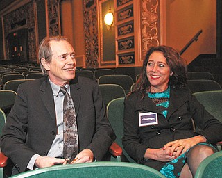 Actor Steve Buscemi headlined a political fundraiser for Michele Lepore-Hagan, who is running for the 58th Ohio House District seat. Buscemi's wife and Lepore-Hagan were college friends who lived together in New York City.