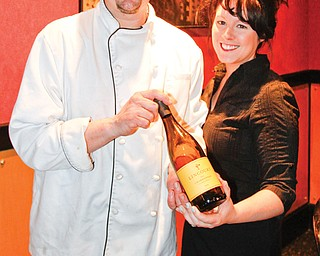 Christopher and Shawna Bonacci, owners of Christopher's Downtown, are gearing up for a series of wine tastings starting in early March.