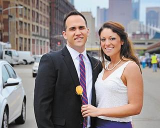 Eric Holtzman and Angela Durham