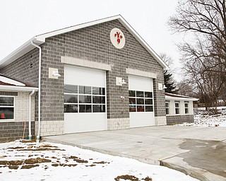 ROBERT K. YOSAY  | THE VINDICATOR..YFD  #9..YFD newest station on Midlothian- has two bays - living area - dorm area - bathrooms with showers - .