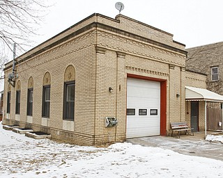 ROBERT K. YOSAY  | THE VINDICATOR..The Old station dating back to the early 1900's YFD newest station on Midlothian- has two bays - living area - dorm area - bathrooms with showers - .