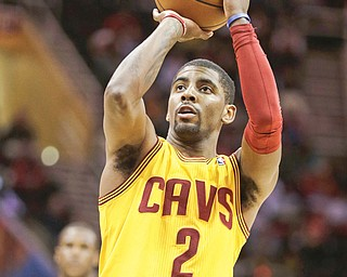 Cavaliers guard Kyrie Irving will miss at least two weeks after sustaining a biceps injury in Sunday's game against the Clippers.