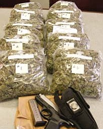 A traffic stop on the South Side resulted in more than a citation. Vice squad officers on patrol late Saturday