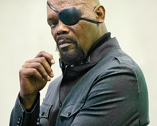 "Samuel L. Jackson stars in ""Captain America: The Winter Soldier."""