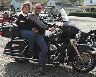 """""""There is nothing better than a Sunday bike ride with friends. It's not the destination, it's the ride,"""" says Karen Hardwick of Liberty, who was riding with her friend, Randy Pyle of Kittanning, Pa."""