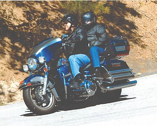 Steve and Patty Miller, formerly of Poland, enjoying a pig-trail ride in Arkansas in 2010. Sent by Trisha Miller.