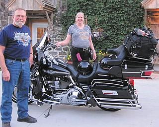 Tony and Linda Moran of Salem at Gettysburg, Pa.