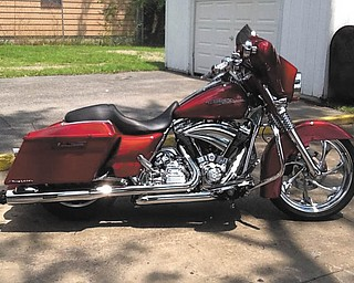 This 2012 Harley Davidson Street Glide is owned by Ron Dubas of Youngstown.