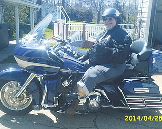 Keith Boerio has been riding with his wife, Debbie, for more than 30 years. They enjoy every ride.