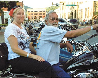 Michael Sonnenlitter and Kathy Bollinger in Johnstown, Pa., in June 2013, and now they are Mr. and Mrs.