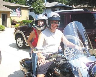 Here are Jim Santangelo of Boardman and Angela Santangelo of Cincinnati.