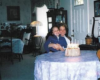 Julie, 9, and Dena Wargo of Austintown taken a few years ago.