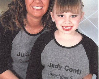 JoEllen Mrofchak and her daughter, Angelina, 7, both of Poland, share the love of dance. Mom is an instructor and daughter is a student at Judy Conti School of Dance.