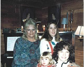 Joanne Speece, Heidi VanAuker, Lana VanAuker and Leanna Hartsough, four generations. Sent by Lana VanAuker of Canfield.