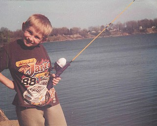 Christopher Buzzelli was fishing back in 2005. Where's the fish? Sent by Tina Buzzelli of Mineral Ridge.