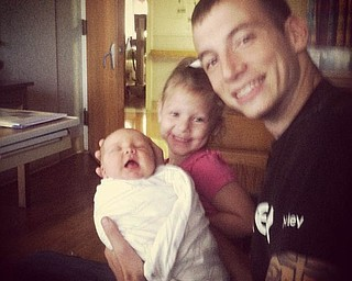 Johnny Steele is with Alexis and Jaxon.
