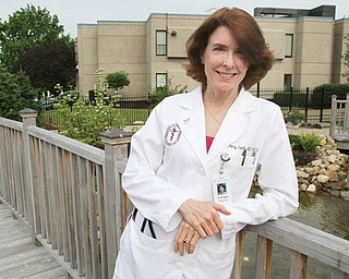 Dr. Nancy L. Gantt, professor of surgery at Northeast Ohio Medical University, is also co-medical director of the Joanie Abdu Comprehensive Breast Care Center in Youngstown.
