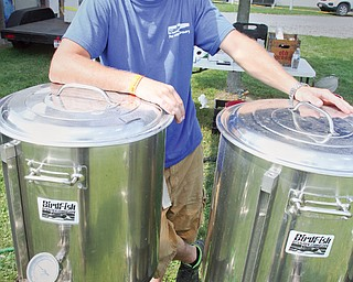 Leetonia resident Jared Channell of BirdFish Brewing was pleasantly surprised when he learned the Canfield Fair