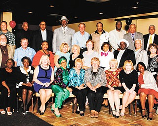SPECIAL TO THE VINDICATOR North High School Class of 1964 had its 50th reunion on May 24 at Johnny's Banquet Hall in Boardman. From left to right in the first row are Edwin Arocho, Luberta Tubbs, Stephanie Benson, Dorothy Horvath, Gladys Wilson, Carol Debow, Audrey Kurowsky, Harriet Figas, Joanne Edl, Rose Robb, John Vosch and Charles Morosky Jr. In the second row are Wendell Neal, Jay Miller, Nancy Murray, Candace Duzzny, Linda Sefcik, Rita Soles, Christine Scott, Ronald Harris, Walter Soles, Joan Hamrock and Barbara Duez. And in the third row are Carl Harbour, Clifford Hahn, Richard Baskins, Julius Davis, Joseph Williams, Richard Paris, Morris Taylor, Lloyd Hughes, Robert Gibson, Louis McDavid and Russell Conyer.