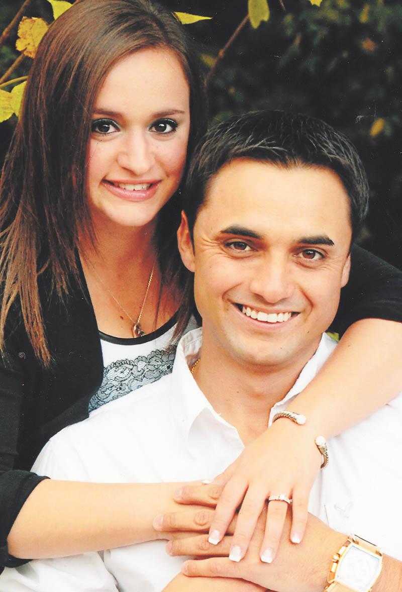 Gina Leone and Byron Velichko