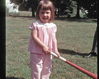 Janet Misel was 4 when she began playing baseball at her grandparent's house in Youngstown.