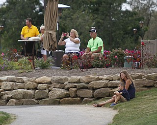 .          ROBERT  K. YOSAY | THE VINDICATOR..Small gallery at the number 9 hole.......GGOV at The Lake Club in Poland -...-30-