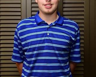 HUBBARD, OHIO - MAY 31, 2015: Zach Jacobson