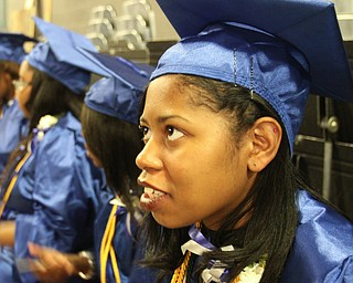 William d Lewis the vindicator  YEC graduate Shyann Green is graduating with college credits