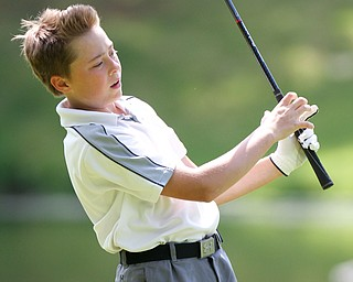 William D. Lewis The vindicator  Michael Porter competes in GGOV junior qualifier 5/22/16 at Pines Lakes in Hubbard.