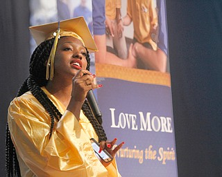 ROBERT  K. YOSAY | THE VINDICATOR..Madisynne Bowers.... sings -  OCEANS -..Valley Christian Schools --Highway Tabernacle Church..almost 40 graduates  celebrated graduation - ..-30-