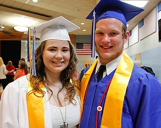 ROBERT K. YOSAY    THE VINDICATOR..All in the Family as TWINS...Valedictorian Adriana Italiano and Class President her brother  Anthony Italiano..Jackson Milton Class of 2016....  ... - -30-.