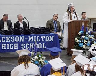ROBERT K. YOSAY    THE VINDICATOR..Jackson Milton Class of 2016....  ..Salutatorian.... speech Samantha Mansfield. - -30-.