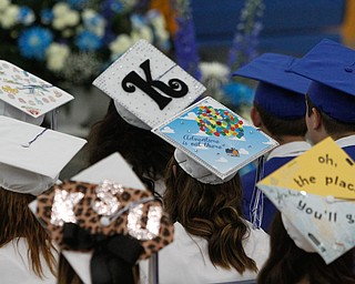 ROBERT K. YOSAY    THE VINDICATOR..Jackson Milton Class of 2016....  .  Headed off to different areas... as decorating their caps.... - -30-.