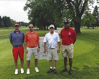 Alzheimers Network Outing qualifiers on 05/29/2016: Jeff Williamson, Joe Defalco, Jeff Campbell, and African Grant
