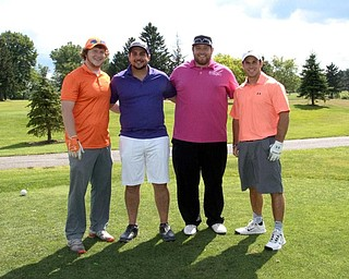 YMCA Golf Outing qualifiers at Knoll Run: Mike Roberts, Nick Flaviano, Tony Gallo, Adam Mishimura