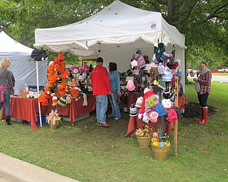 Neighbors | Alexis Bartolomucci.More than 150 vendors set up tents to sell handcrafted items during Okoberfest at Boardman Park on Oct. 2.