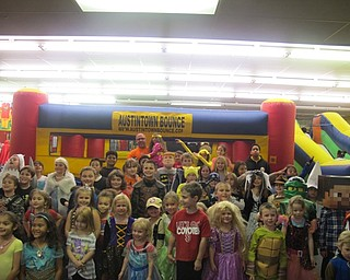 Neighbors | Alexis Bartolomucci.The children who came to Austintown Bounce on Oct. 21 for the Halloween party dressed up in their costumes.