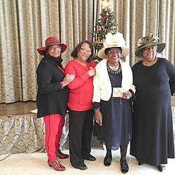 Hats Off To Christmas.Hats Off To Seniors Attracts More Than 100 Participants